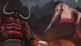 اقوى لحظات رعب لوفي vs كايدو [AMV] في ون بيس معركة التنين | اللحية البيضاء وآيس ولوفي ضد أكاينو