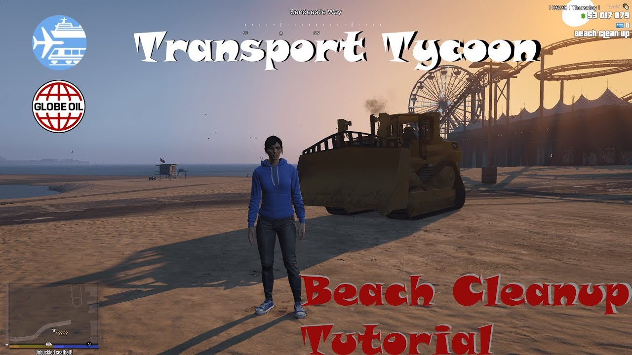 Voidded-Tutorial: Transport Tycoon, Beach Cleanup Tutorial