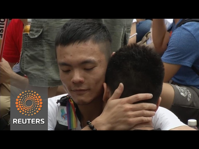 Taiwan rules in favour of gay marriage
