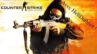 Counter Strike : GO - Je sais pas viser :( ( Avec HellDiablo9 )