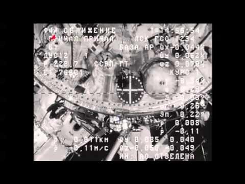 Progress Resupply Craft Docks to Space Station