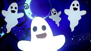 Halloween Songs for Kids | The Haunted House | Funny Scary Nursery Rhyme Playlist for Children Baby