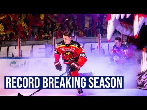 Nils Lundkvist Is Having A Record Breaking Season In The SHL