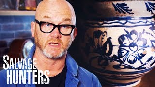 Drew Finds Stunning 19th Century Chamber Pot For £120 | Salvage Hunters