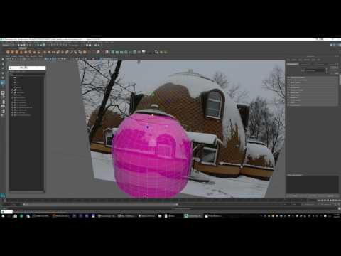 Maya 3D | How-To Create a Round Russian House