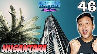 Tower Walikota Dan Tempat Jajan Winter Market - Cities Skylines Indonesia #46