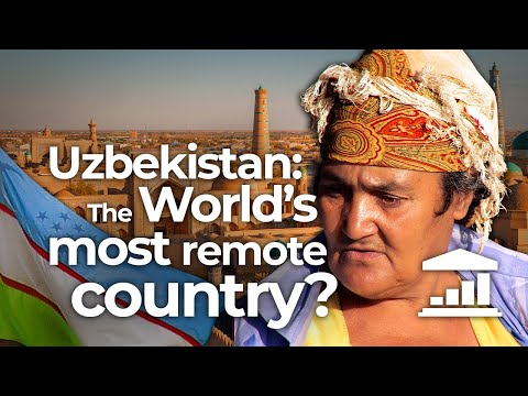 UZBEKISTAN, the most OUT OF THE WAY Country in the WORLD? - VisualPolitik EN