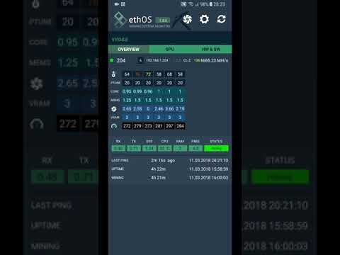 ethOS – Mining System Monitor | Android | 0A1 EU - Zero