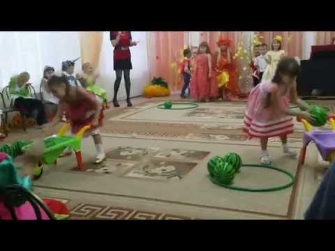Видеозапись Веселые Игры В Детском саду Cheerful Games In Kindergarten