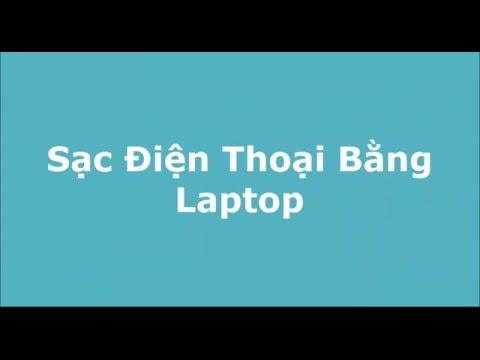 Sạc Pin Điện Thoại Trong Khi Laptop Sleep