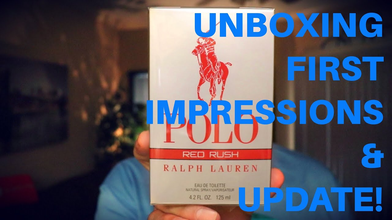 3cb67492cb *NEW RELEASE* Polo Red Rush by Ralph Lauren - Unboxing, First Impressions  and Update!