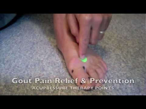 Gout Pain Relief Acupressure Points