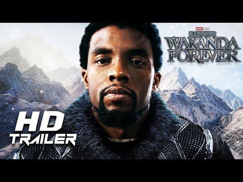 Black Panther 2: Wakanda Forever (2022) - Teaser Trailer Concept   Chadwick Boseman   Marvel