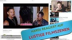 HARDI reagiert auf LUSTIGE Film Szenen (Nackte Kanone, Bad Boys 2)