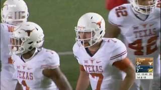 Texas Longhorns vs California Golden Bears football 2016