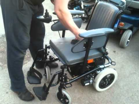 INVACARE SPECTRA PLUS ELECTRIC WHEELCHAIR  YouTube