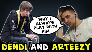 Dendi and Arteezy: why we always matched together?