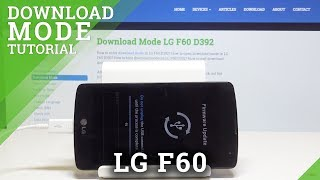 How to Boot into Download Mode in LG F60 - Exit LG Download Mode