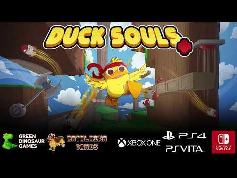 Duck Souls + - Nintendo Switch Trailer