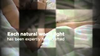 Driftwood Mosaic Petite Table Lamp Home Decor - Light Me Up Desk Table & Floor Lamp