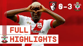 FULL HIGHLIGHTS: Bournemouth 0-3 Southampton | Emirates FA Cup