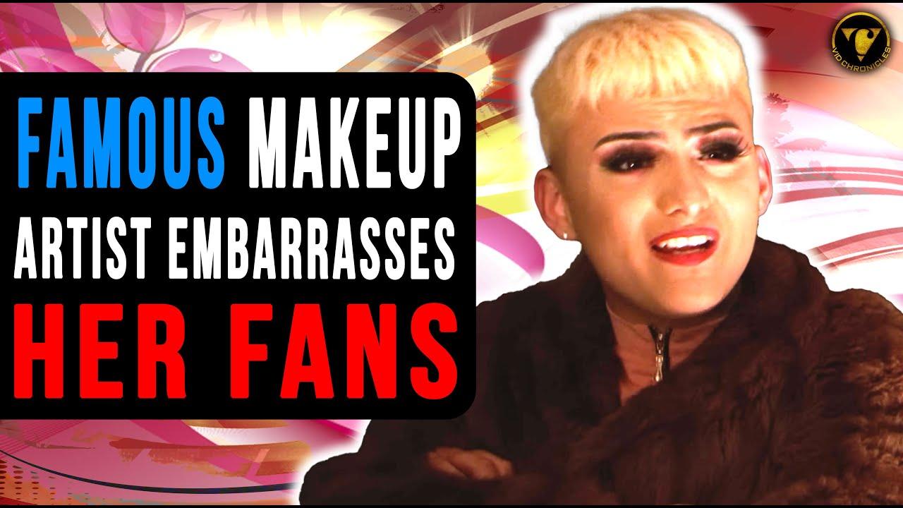 Famous Makeup Artist Embarrasses Fans, He Lives To Regret It.