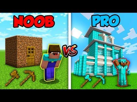 Minecraft NOOB vs. PRO: LIFE in Minecraft!