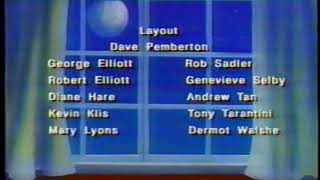 Little Rosey (Roseanne Cartoon) Credits With Voice Over Ad - 1990/1991