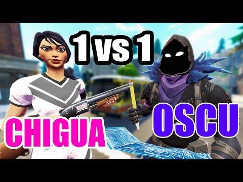 Chigua vs Oscurlod, la pelea de Fortnite mas esperada...