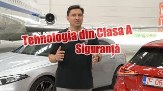 Tehnologia din Mercedes-Benz Clasa A  - SIGURANȚĂ
