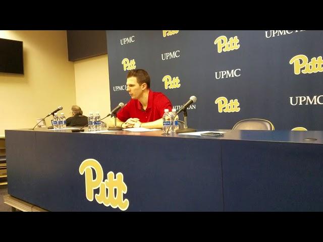 David Padgett Press Conference (Pitt) 2/11/18