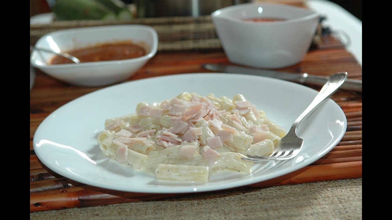 Macarrones con queso sin horno receta de cocina al natural youtube - Macarrones con verduras al horno ...
