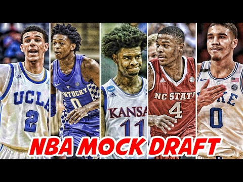 2017 NBA Mock Draft Lottery