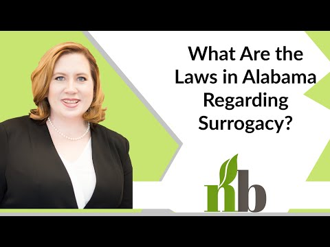 What Are the Laws in Alabama Regarding Surrogacy? | Contested Divorce in Alabama | Amber James
