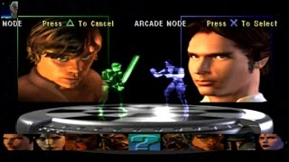 Star Wars: Masters of Teras Kasi - Arcade Mode Luke Skywalker Playthrough PS1 (No Commentary)