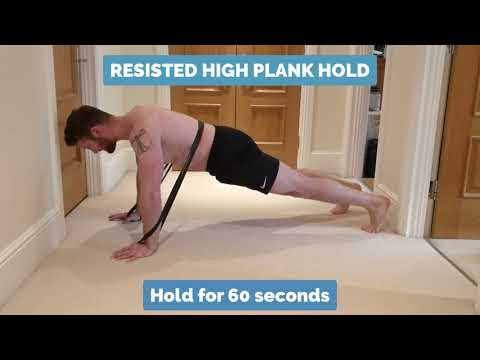 Low Back Exercise - High Plank Hold | Epsom Chiropractor