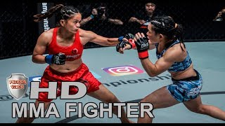 Top 3 Round MMA Women Fighter Gina