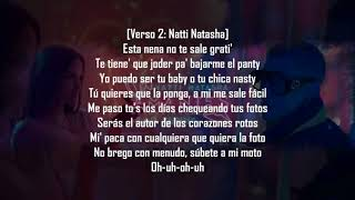 Bad bunny natty natasha AMANTES DE UNA NOCHE  VERSIÓN REGGAETON