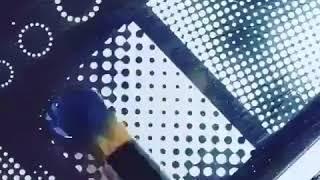 Кошачий глаз и стемпинг, ускоренный видео урок дизайна ногтей
