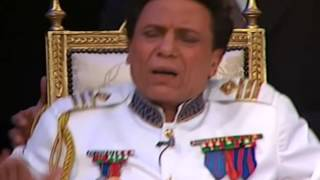 عادل امام توقيع الاتفاقية مع الرئيس الضيف | مسرحية الزعيم