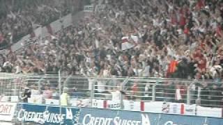 Switzerland vs England Euro Qualification Match - National Anthem