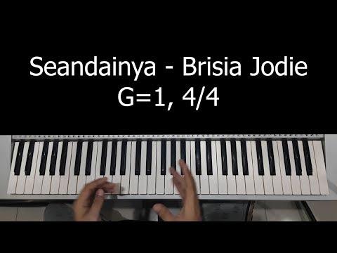 Tutorial Piano - Seandainya (Brisia Jodie)