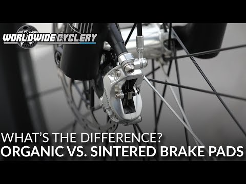 Mountain Bike Brake Pads | Organic vs. Sintered - Whats the Difference?