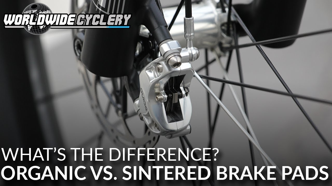 Video] What's The Difference: Organic vs  Sintered Brake Pads (Which