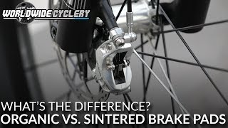 Mountain Bike Brake Pads | Organic vs. Sintered - What's the Difference?