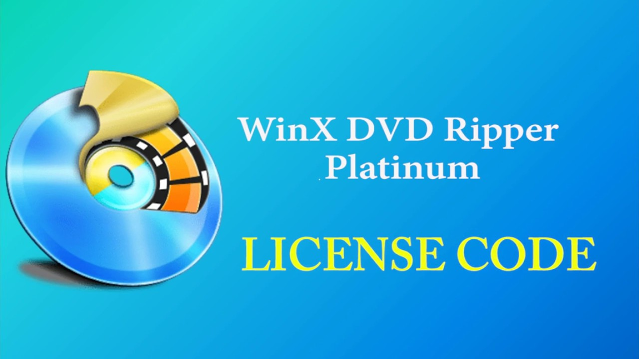 winx dvd ripper platinum serial key free download