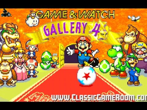 Classic Game Room - NINTENDO GAME & WATCH GALLERY 4 review for GBA