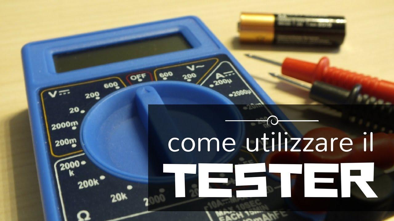 Come usare il tester elettrico | Analogico e digitale ...