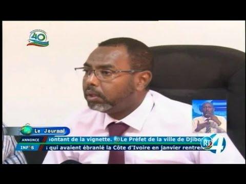 Télé Djibouti Chaine Youtube : JT en Fr de 22h du 12/05/2017