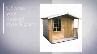 Firewood Shed Plans & Designs